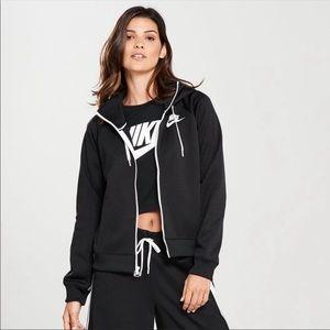 Nike sportwear Full Zip Hoodie - Black
